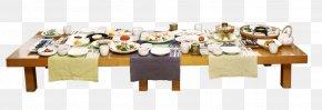 Table Cuisine - Korean Cuisine Gimbap Korean Fried Chicken Bibimbap Zhajiangmian PNG