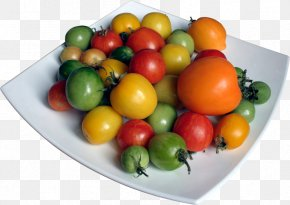 Tomato - Bush Tomato Vegetarian Cuisine Diet Food PNG