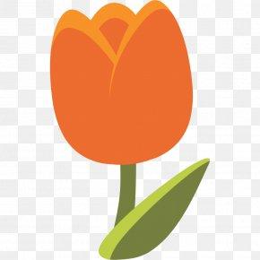 Tulip - Emoji Tulip Android Unicode PNG