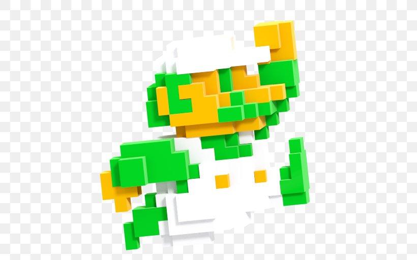 Super Mario Bros. Mario & Luigi: Superstar Saga Super Smash Bros. For Nintendo 3DS And Wii U, PNG, 512x512px, 8bit Color, Super Mario Bros, Bit, Bowser, Green Download Free