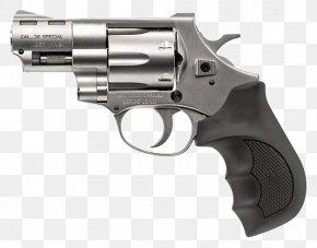 Handgun - .357 Magnum Revolver European American Armory Trigger .38 Special PNG