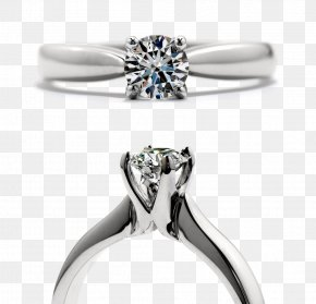 Creative Jewelry Jewelry,Diamond Ring,Ring - Engagement Ring Hearts On Fire Diamond Jewellery PNG