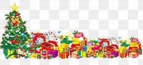 Christmas Present - Christmas Tree Gift Santa Claus PNG