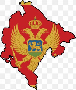 Flag - Flag Of Montenegro National Flag Republic Of Montenegro PNG