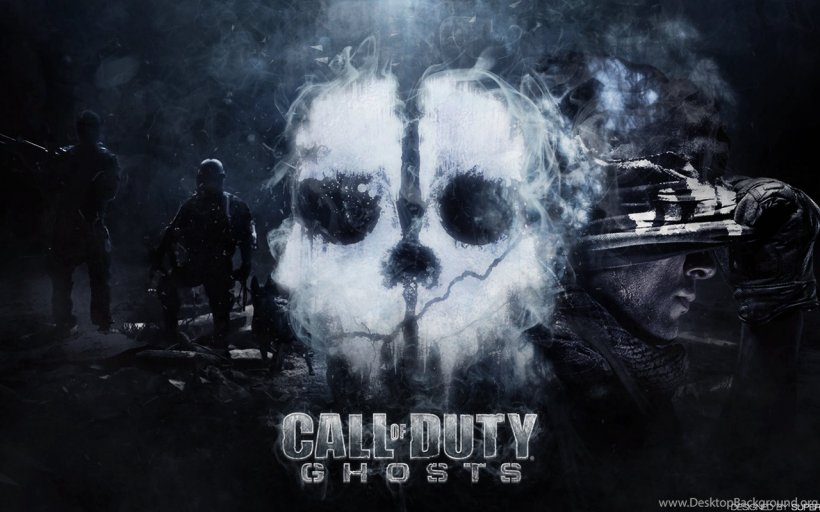 Call Of Duty: Ghosts Call Of Duty 4: Modern Warfare Call Of Duty: Black Ops III DOOM, PNG, 1280x800px, Watercolor, Cartoon, Flower, Frame, Heart Download Free