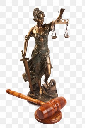 Justice Goddess Copper - Criminal Law Contract Lawyer Ownership PNG