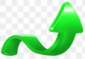 Increase Arrow Green Clip Art Image - Green Arrow Clip Art PNG