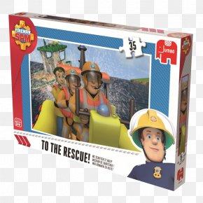 Fireman Sam - Jigsaw Puzzles Online Shopping Toy Firefighter Jumbo PNG
