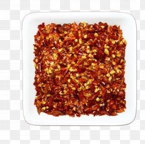 Red Pepper Red Particles - Hot Pot Condiment Seasoning Capsicum Annuum Sauce PNG