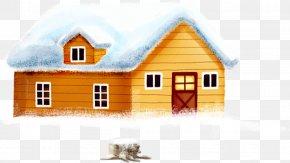 Cute Igloo - Snow Christmas House PNG