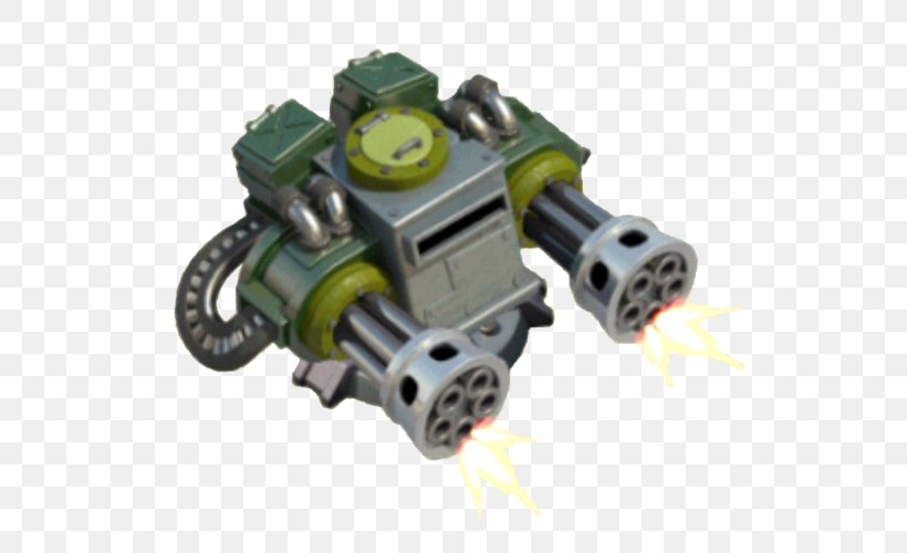 Boom Beach M1917 Browning Machine Gun Firearm Clash Of Clans, PNG, 586x500px, Boom Beach, Auto Part, Automotive Engine Part, Browning Arms Company, Bullet Download Free