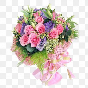 Color Bouquet - Flower Bouquet Teachers Day Gift Birthday PNG