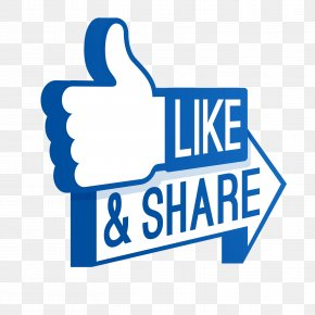 Share - Like Button Facebook Social Media Clip Art PNG