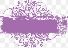 Vector Purple Pattern Text Box - Text Box Dialog Box Purple Euclidean Vector PNG