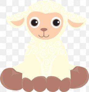 Cute Cartoon Lamb PNG