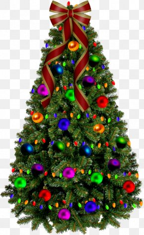 Christmas Tree - Santa Claus Christmas Tree Christmas Day Tree-topper Christmas Ornament PNG