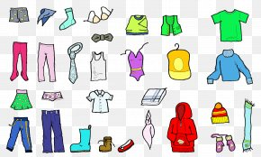 Children's Clothes - Winter Clothing Children's Clothing Clip Art PNG