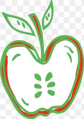 Apple Creative Cartoon - Apple Cartoon Clip Art PNG