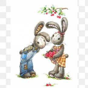 Rabbit - Rabbit Watercolor Painting Art Royalty-free PNG