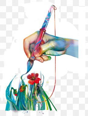 Painting - Watercolor Painting Art Clip Art PNG