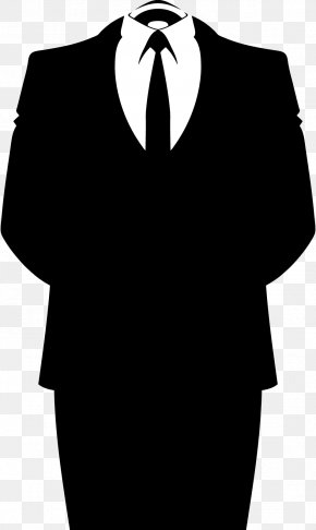 Suit Transparent - Anonymous YourAnonNews Information Organization PNG