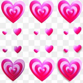 LOVE - Heart Love Symbol Valentine's Day Romance PNG