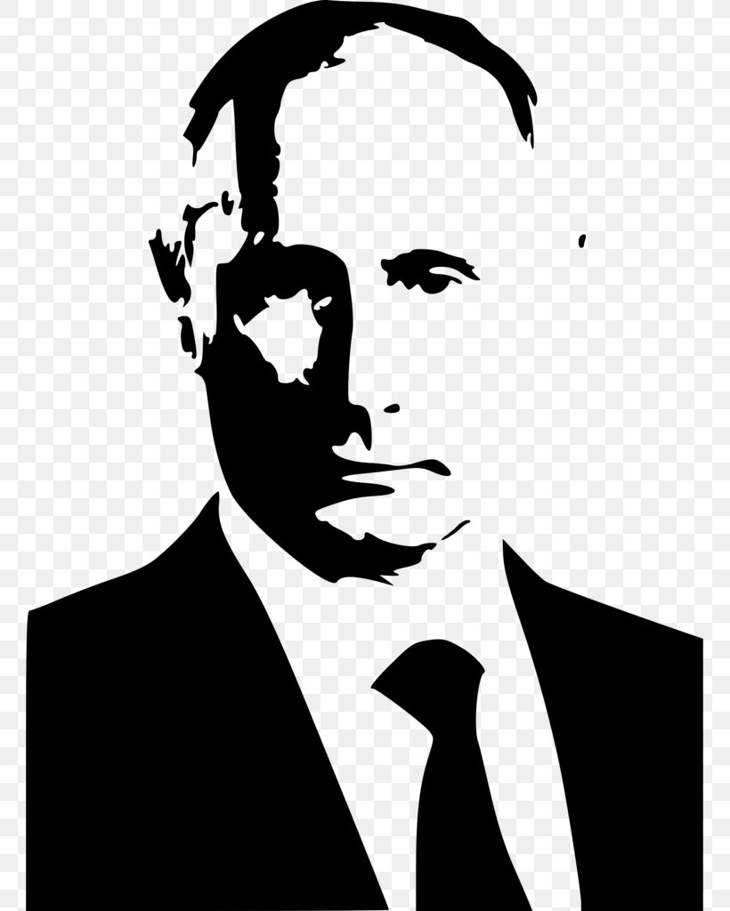 United States President Of Russia Stencil, PNG, 761x1024px, United States, Art, Bill Clinton, Black And White, Donald Trump Download Free