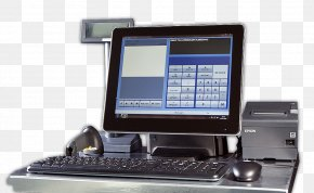 Computer - Cash Register Point Of Sale Computer Software Monster House Electronic Visual Display PNG