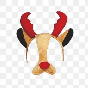 Reindeer - Reindeer Santa Claus Christmas Rudolph PNG