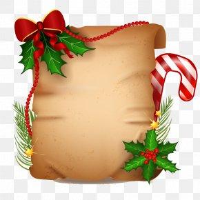 Creative Christmas Kraft Paper Vector Material - Christmas Gift Quotation Presentation Holiday PNG