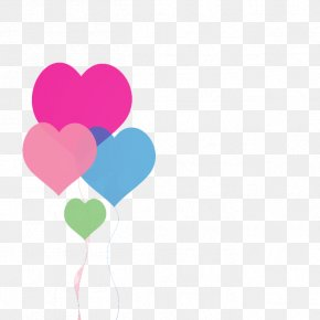 Heart-shaped Balloons Vector - Heart Love Valentines Day Illustration PNG
