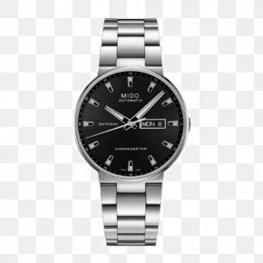 Mido Commander Series Watches - Mido Automatic Watch Jewellery Chronometer Watch PNG