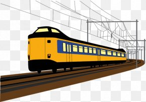 Train Track Clipart - Guide To Indian Railways (RRB) Assistant Loco Pilot Exam 2014 Rail Transport Paper Train PNG