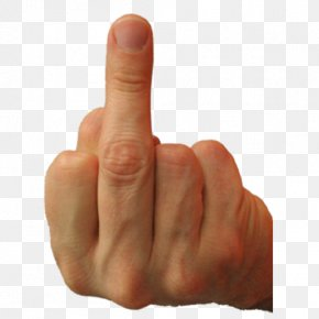 Middle Finger The Finger Ring Finger Thumb PNG
