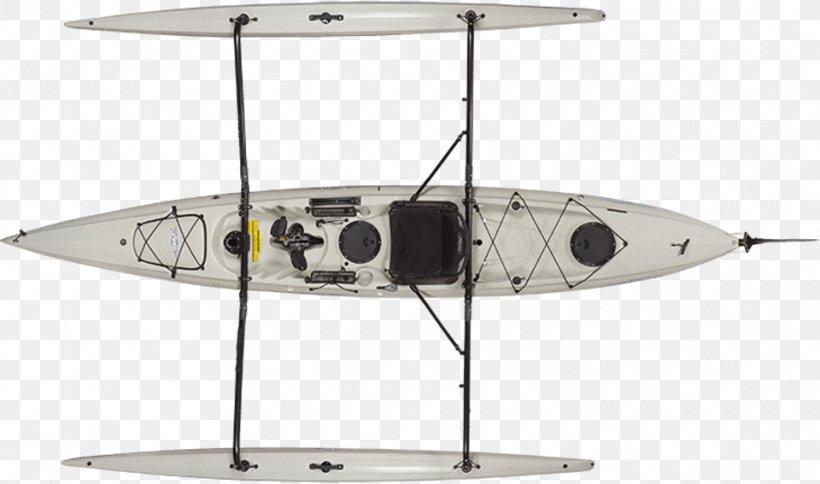 Kayak Fishing Hobie Cat Trimaran, PNG, 960x567px, Kayak, Aircraft, Angling, Boat, Fishing Download Free
