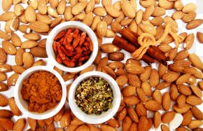 Crisp Almond Herbs - Calabaza Nuts Food Auglis Calorie PNG