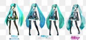 Hatsune Miku - Hatsune Miku: Project DIVA 2nd Vocaloid PSP ピアプロ PNG