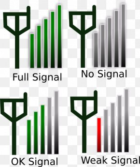 Signal Cliparts - Mobile Phone Signal Signal Strength In Telecommunications Cell Site PNG