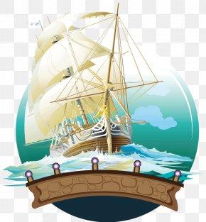 Sailboat - Sailing Ship Watercraft Illustration PNG