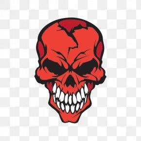 Skull - Skull Decal Sticker Human Head Drawing PNG