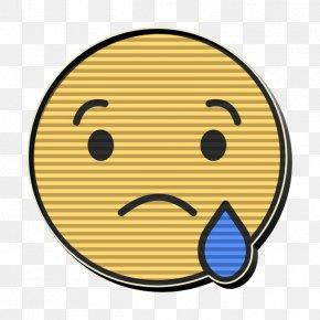Cartoon Cheek - Crying Icon Emoji Icon Facebook Icon PNG