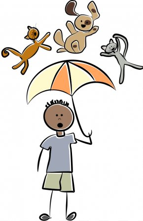 Idiom Cliparts - Dog Cat Idiom Clip Art PNG