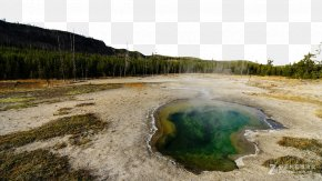 Yellowstone National Park Nature Photos - Yellowstone Caldera Daisetsuzan National Park Landscape PNG