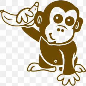 The Little Monkey Scatters Flowers PNG