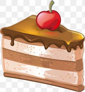 Chocolate Cake Vector - Chocolate Cake Dobos Torte Birthday Cake PNG
