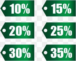 Green Discount Tags Set Part 1 Transparent Image - Run2Paradise Discounts And Allowances PNG