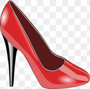 Cliparts Slippers - Slipper Shoe High-heeled Footwear Sneakers Clip Art PNG