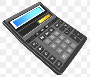 Calculator Transparent Clipart - Solar-powered Calculator Calculation Scientific Calculator Solar Power PNG