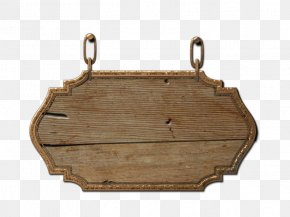 Wood Sign - Paper Wood Sign Clip Art PNG