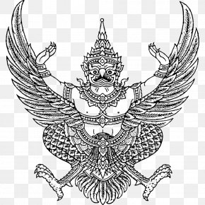 Emblem Of Thailand Garuda National Emblem Coat Of Arms PNG